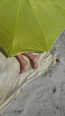 Strand Füße