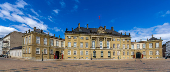 Christian VIII's Palace in Copenhagen, Denmark