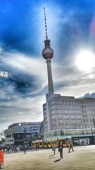 Berlin Alexanderplatz und Fernsehturm