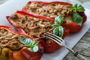 Tuna Fish Stuffed Peppers