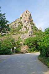 The mountain in Kurortnoe settlement