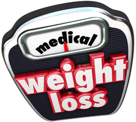 Medical Weight Loss Scale Words Help Assistance Supervised Diet