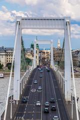 Elisabeth Bridge, Budapest, frontal view