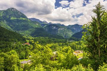 Gebirge und Natur