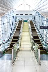Automatic Stairs at Dubai Metro Station