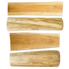 wood isolated on white background