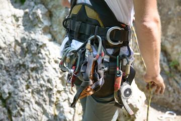equipment for climbing