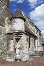 Eglise romane de Audincthun Wandonne (62)