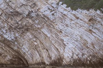 Sunny cliff