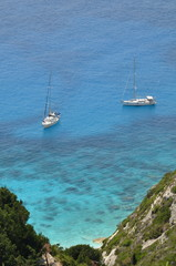 spiaggia di Paxos - Isola greca - Mar Ionio -Eremitis