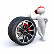 3D Man brake system