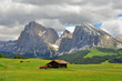 Mountains in Dolomites, Italy