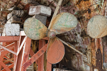 Wooden Ship propeller