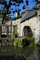 Moulin à eau à Bayeux (Normandie)