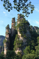zhangjiajie national forest park,