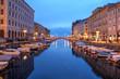 Leinwanddruck Bild - Trieste, Italy