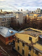 moscow roof view