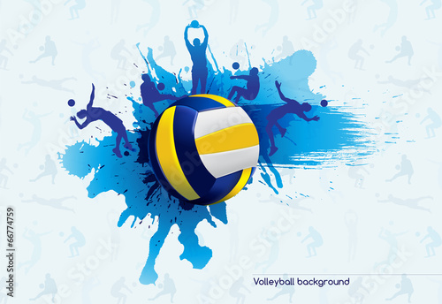 Volleyball Abstract Stock Photos Volleyball Abstract: Vector: Volleyball Abstract