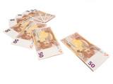 fünfzig euros scheine