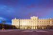 Royal Palace in  twilight time