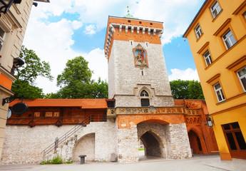 St. Florian's Street  (Florianska Street) gates