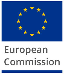 European Commission standard proportional sign - flat design