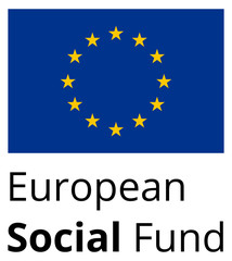 European Social Fund - standard and proprtional EU sign