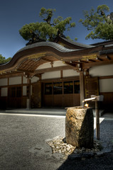 Shinto shrine at Ise Jingu, Japan