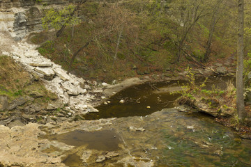 Minneopa Falls Dry