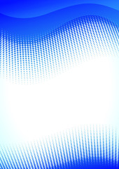 Vector blue vertical background