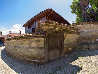 The mountainous Manor in Bulgarian village