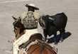 Bullfighter and bull - 66780147
