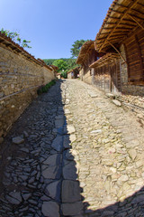 Catch basins in the Balkan mountain village