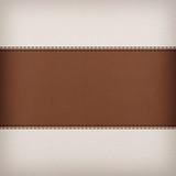 Fototapety stitched leather background