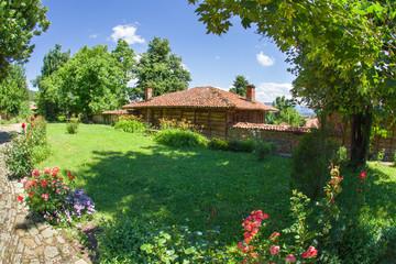 Rural manor in the Balkans