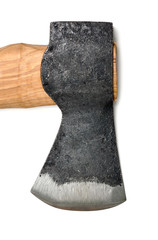 Axe, isolated on a white background