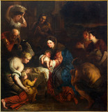 Fototapety Mechelen - Adoration of the Shepherts in the cathedral