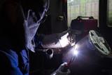 Electrode welding recruitment test poster