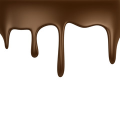 Chocolate dripping
