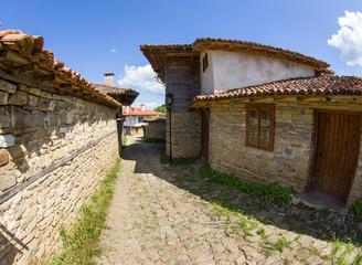 Street in the mountain village