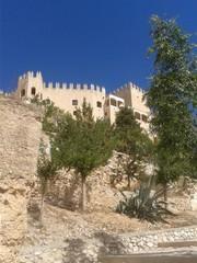 Spanish destination castle of Velez Blanco