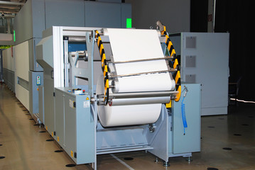 Digital press: printing machine