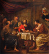 Mechelen - Jesus and disciple of Emausy at supper