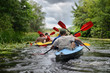 2014 Ukraine river Sula river rafting kayaking editorial photo - 66783932