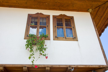 Architectural Details in the Bulgarian village of Zheravna