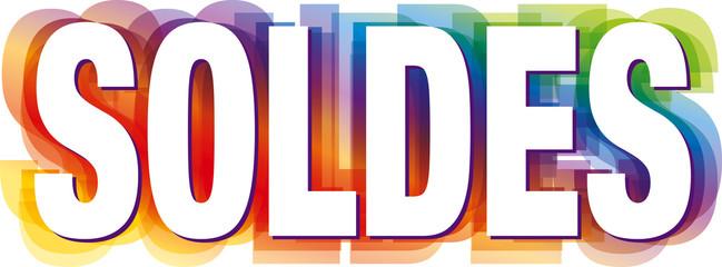 soldes texte logo soldes kazy
