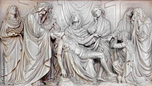 Mechelen - Deposition of the cross - Our Lady across de Dyle.