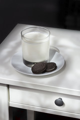 Night Snack Cookies and Milk