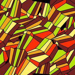 Geometric seamless texture