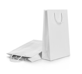 white gift bags